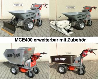 Powerpac Multi Caddy / Multi Dumper Elektro MCE400 1000W Mulde 110L Bild 3