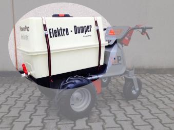 Powerpac Wassertank für Elektro Multi-Caddy MCE400