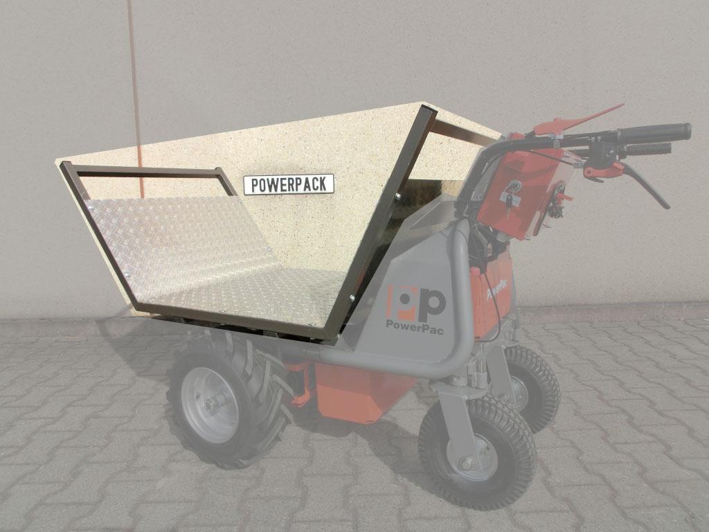 Powerpac Transportaufsatz für Multi-Caddy elektro MCE400 Bild 1