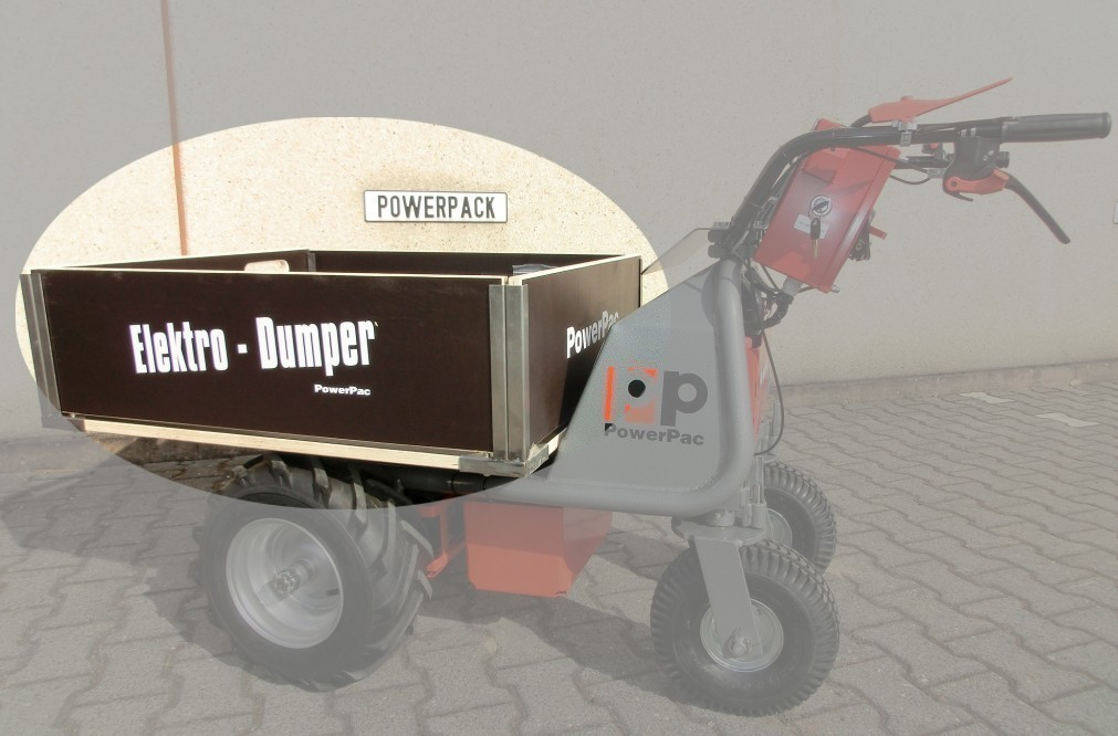 Powerpac Transportkiste für Multi-Caddy elektro MCE400 Bild 1