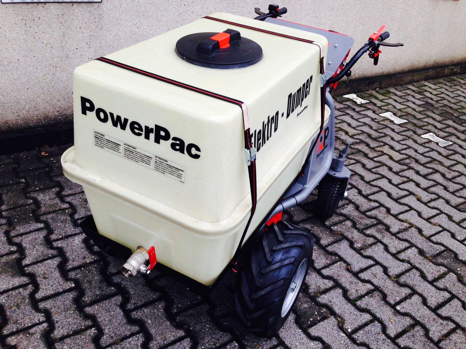 Powerpac Wassertank für Elektro Multi-Caddy MCE400 Bild 3