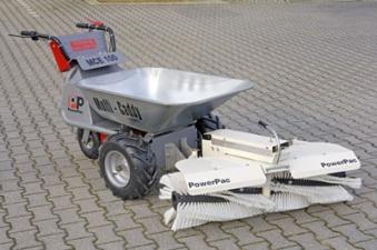 Powerpac Kehrbesen für Multi-Caddy elektro MCE400 105cm