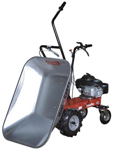 Powerpac Motorschubkarre / Mini-Caddy / Mini-Dumper MCM100 110 Liter Bild 1