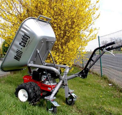 Powerpac Motorschubkarre / Mini-Caddy / Multi-Dumper MC140 110 Liter Bild 1