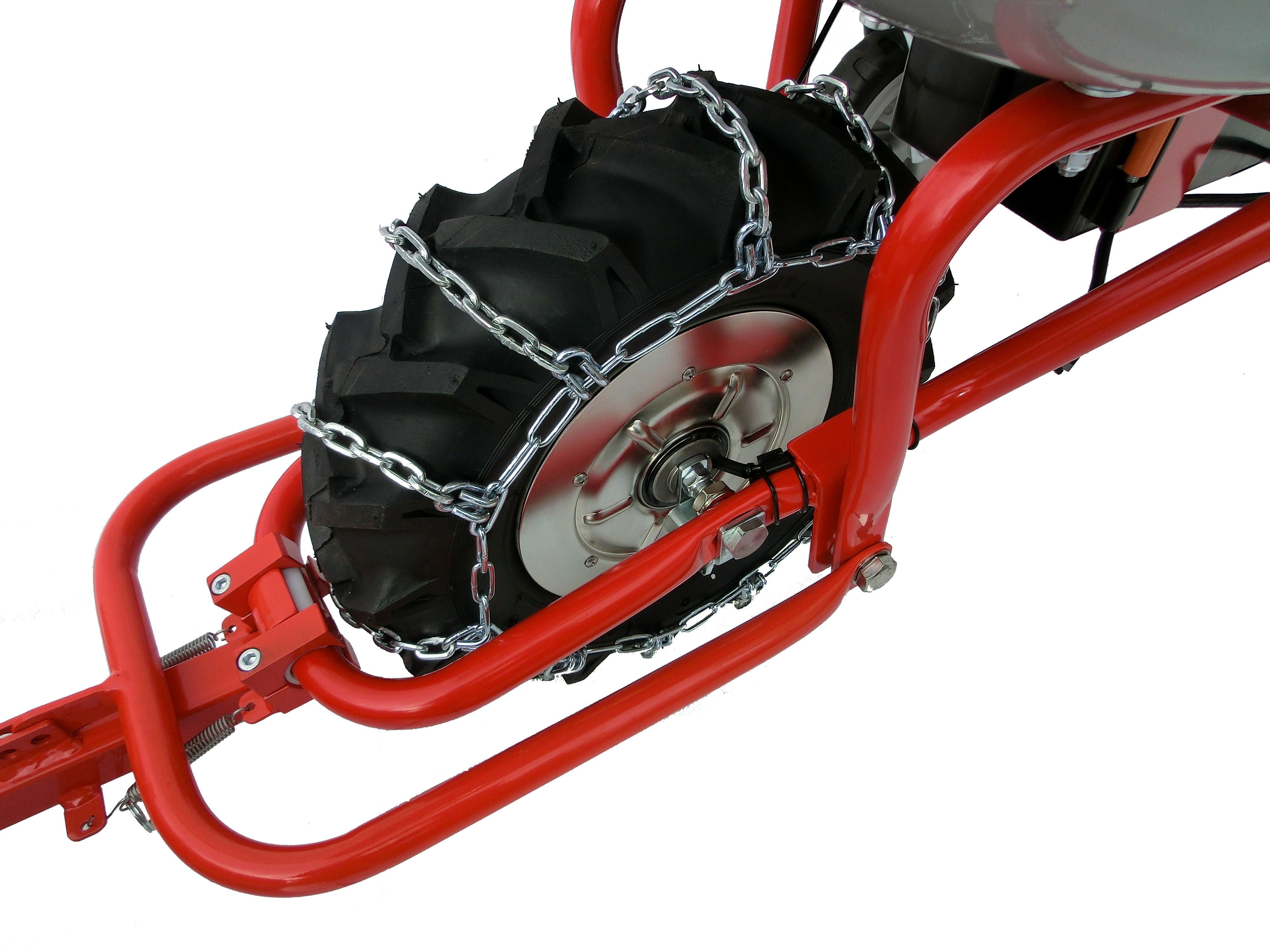 Powerpac Schneekette für Elektro-Dumper ED120 Bild 2