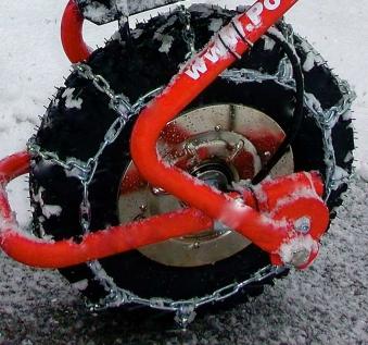 Powerpac Schneekette für Elektro-Dumper ED120 Bild 1