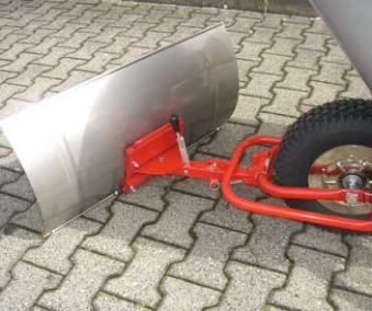 Powerpac Schneeschild / Schneeräumer für Elektro-Dumper ED120 Bild 1