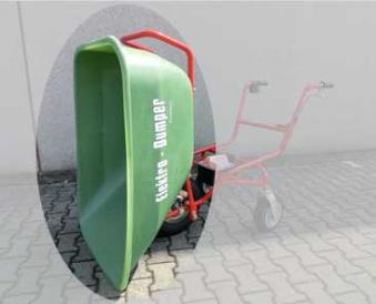 Powerpac Wanne ED4388 für Elektro-Dumper 180Liter Bild 1