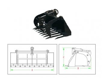 PowerPac Greifzange Zubehör für Multi-Lader ML350 Bild 1