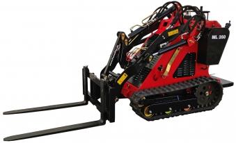 PowerPac Palettengabel Zubehör für Multi-Lader ML350 Bild 2