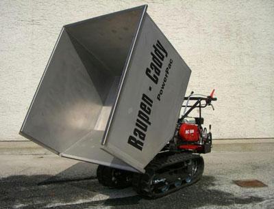 Powerpac Leichtgutwanne 600 Liter für Raupen-Caddy RC500 Bild 1