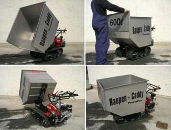 Powerpac Leichtgutwanne 600 Liter für Raupen-Caddy RC500 Bild 2