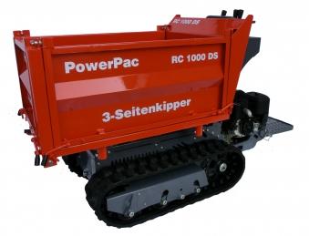 Powerpac Raupen-Dumper / Dreiseitenkipper RC1000-DS Benzin Bild 1