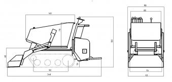 Powerpac Raupen-Dumper RC 1200 Bild 2