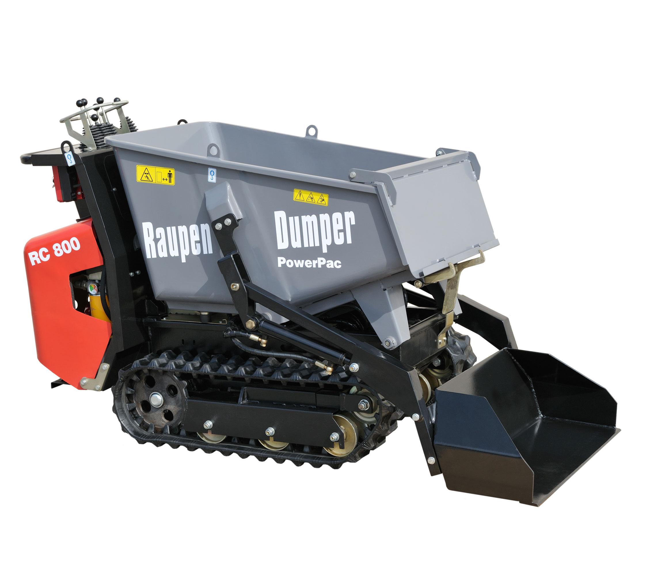 Powerpac Raupen-Dumper RC 800 Bild 1