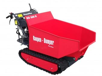 Powerpac Raupen-Dumper RD500R mit Schüttmulde oder Pritsche