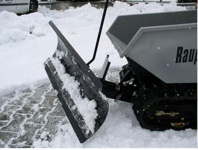 Powerpac Schneeschild 85cm hydraulisch für Raupen-Caddy RC500 Bild 1