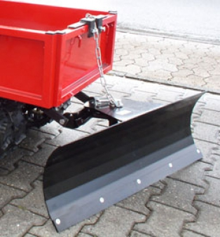 Powerpac Schneeschild 85cm mechanisch für Raupen-Caddy Bild 1