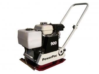PowerPac Rüttelplatte Vorlauf VP900B/360 Benzin mit Wassertank Bild 1