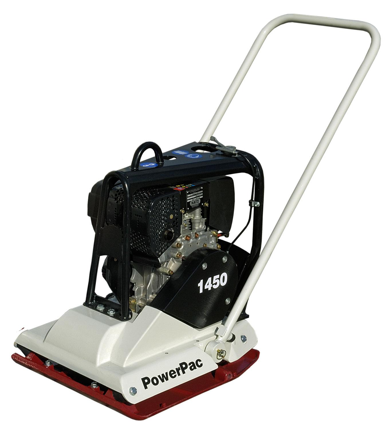 Powerpac Rüttelplatte Vorlauf VP1450D/500 Diesel Bild 1