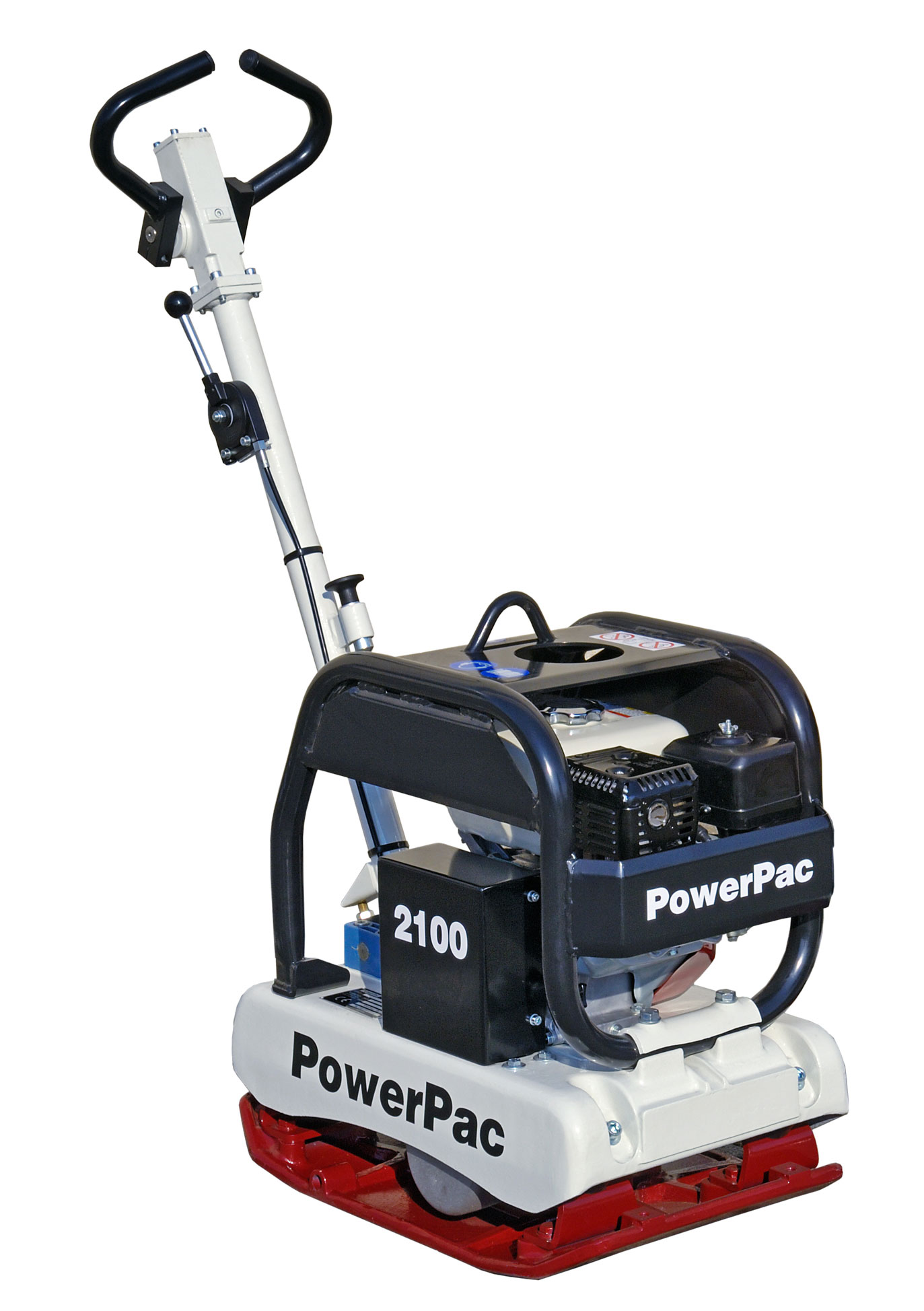 Powerpac Rüttelplatte reversierbar PPR2100B/400 Benzin Bild 1