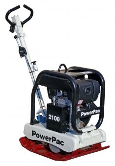 Powerpac Rüttelplatte reversierbar PPR2100D/400 Diesel Bild 1