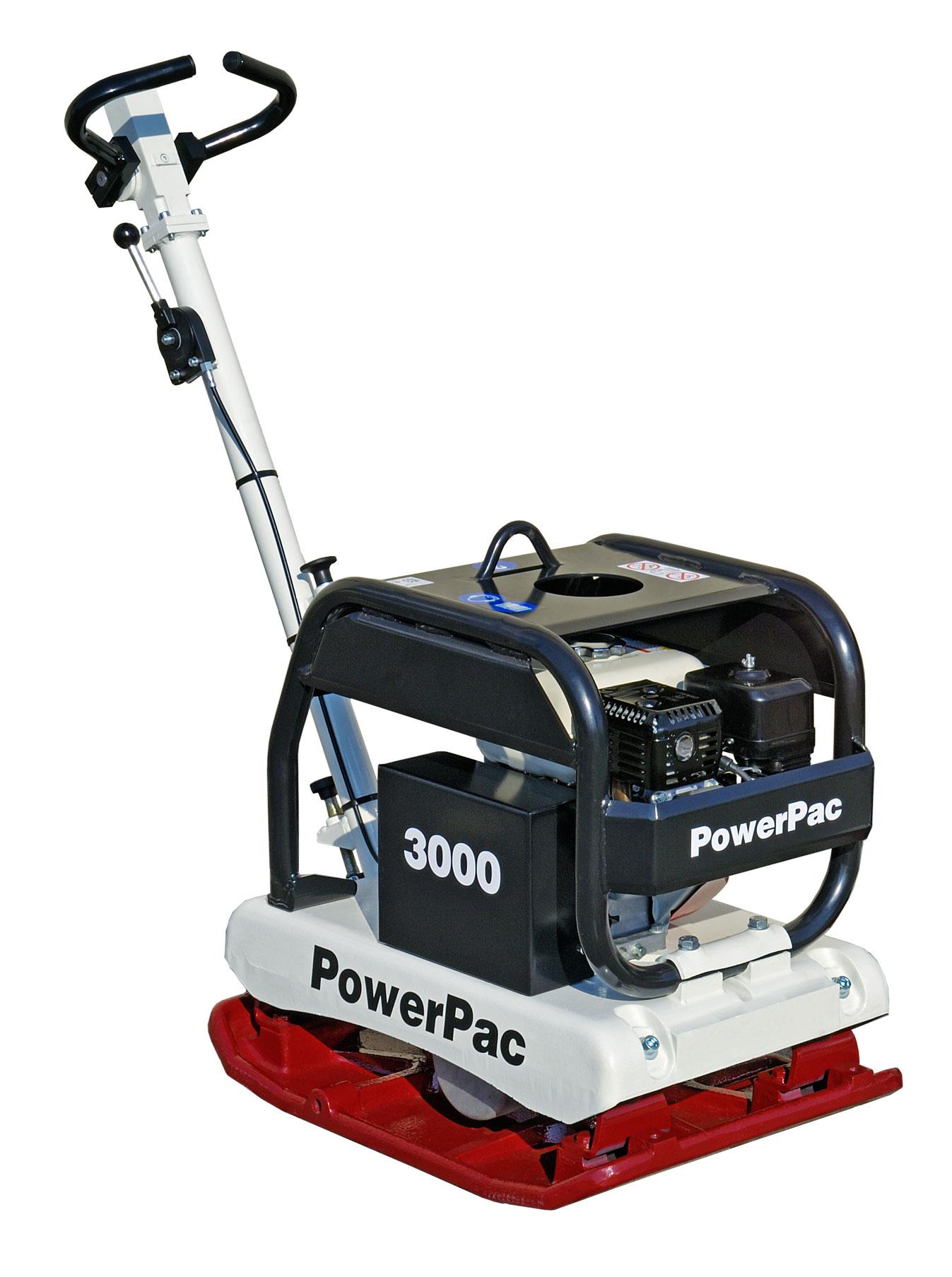 Powerpac Rüttelplatte reversierbar PPR3000B/500 Benzin Bild 1