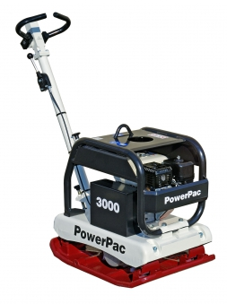 Powerpac Rüttelplatte reversierbar PPR3000B/650 Benzin Bild 1