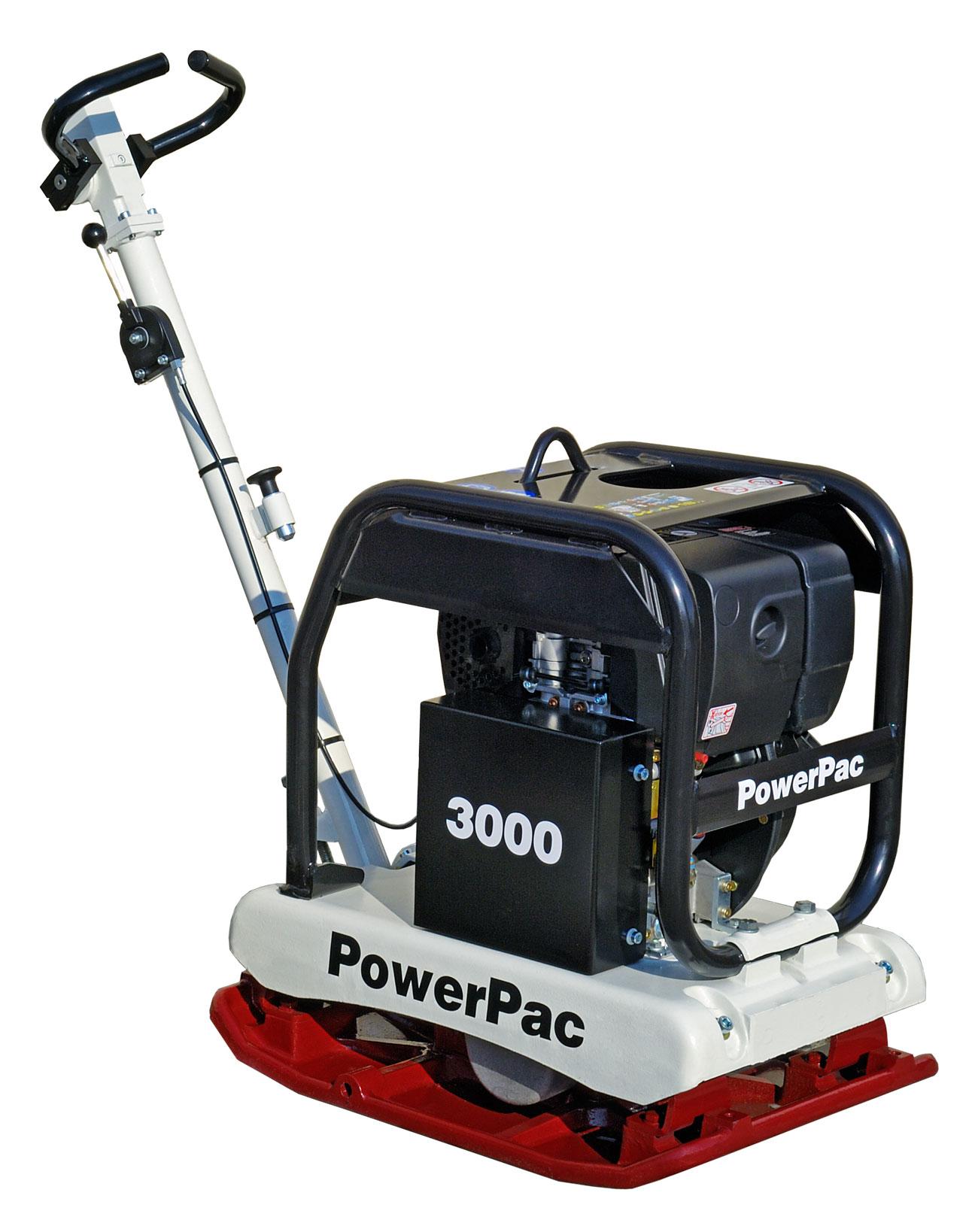 Powerpac Rüttelplatte reversierbar PPR3000D/650 Diesel Bild 1