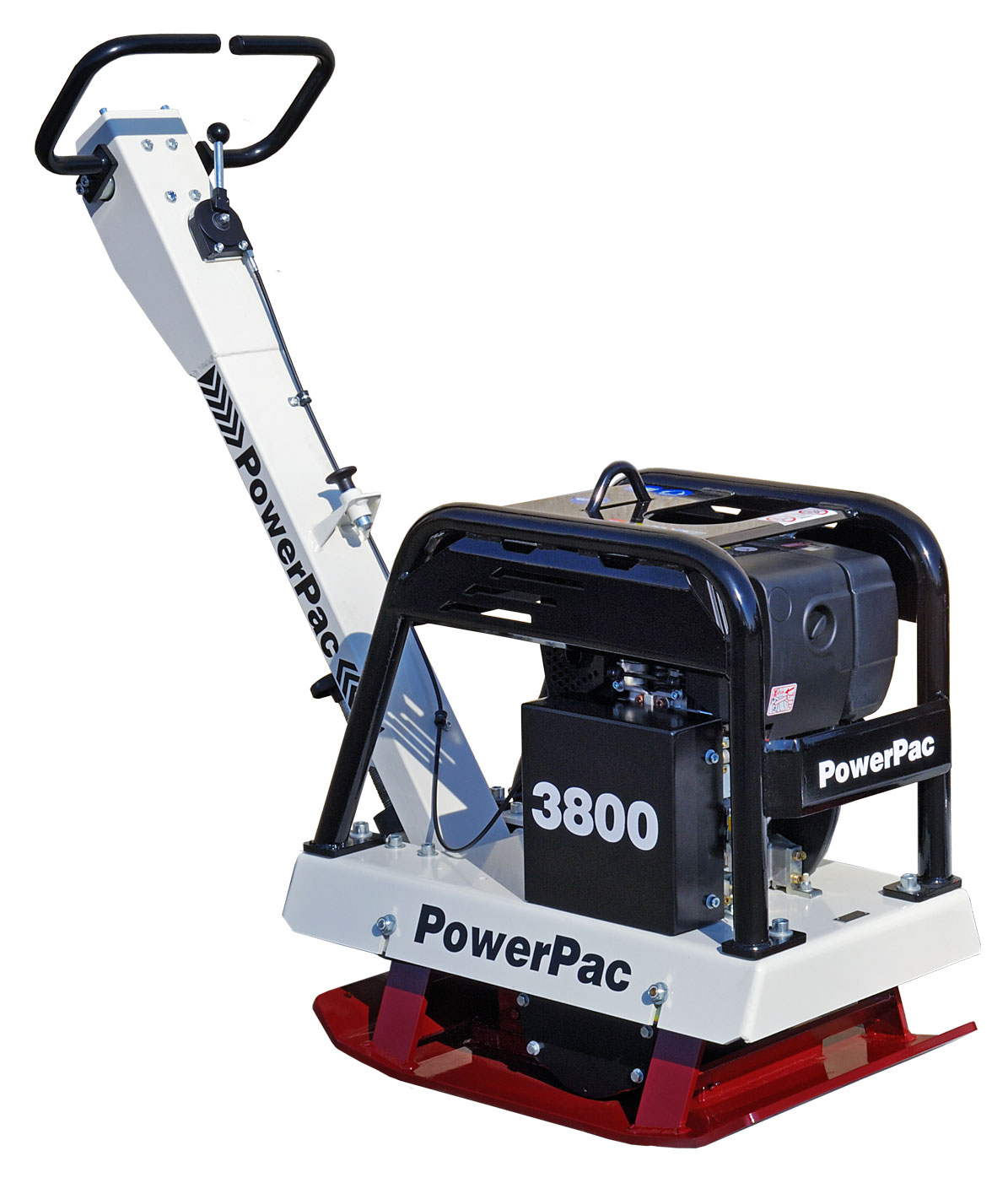 Powerpac Rüttelplatte reversierbar PPR3800D/500 Diesel Bild 1