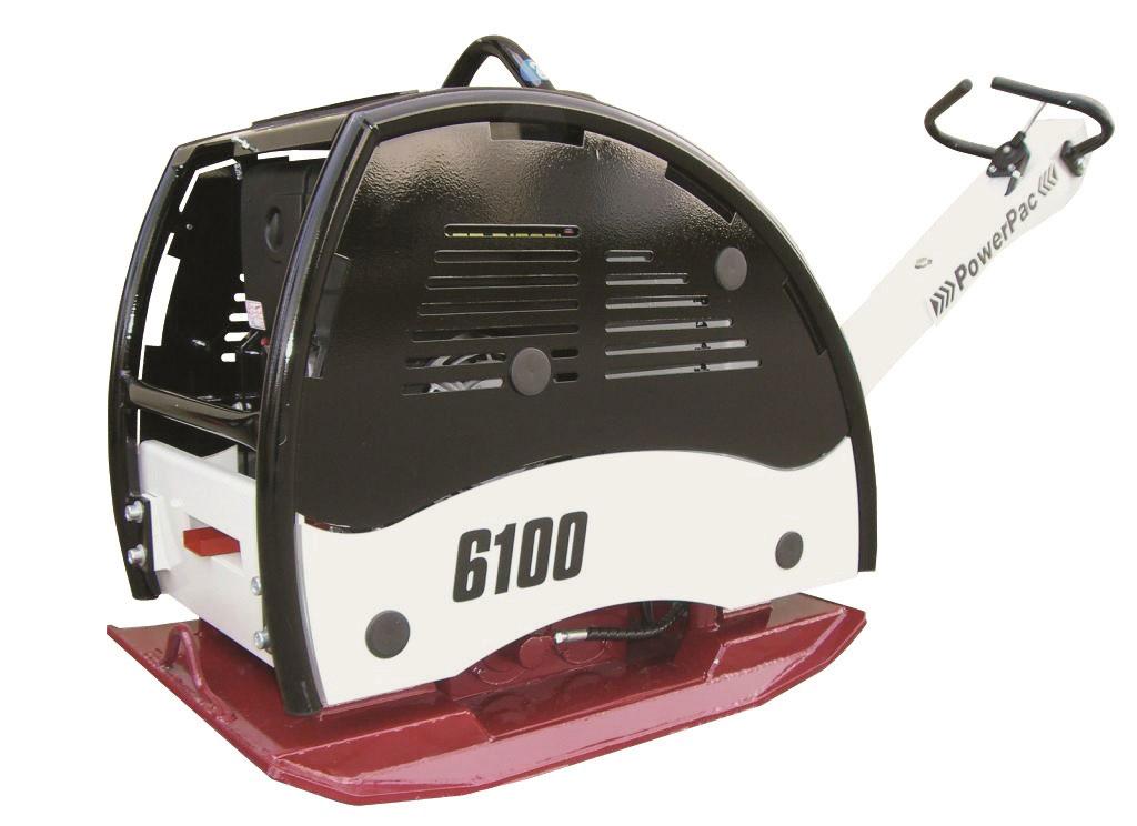 Powerpac Rüttelplatte reversierbar PPR6100D/600 Diesel Bild 1