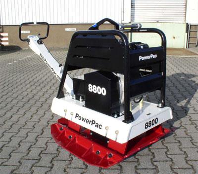 Powerpac Rüttelplatte reversierbar PPR8800D/650 Diesel Bild 1