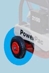 Powerpac Radsatz für Vibrationsplatten PPR2100 Bild 1