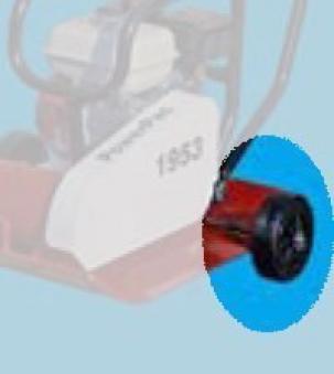 Powerpac Radsatz für Vibrationsplatten Typ VP Bild 1