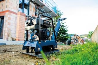 Scheppach Rüttelplatte HP3000s 9 PS 156kg Bild 4