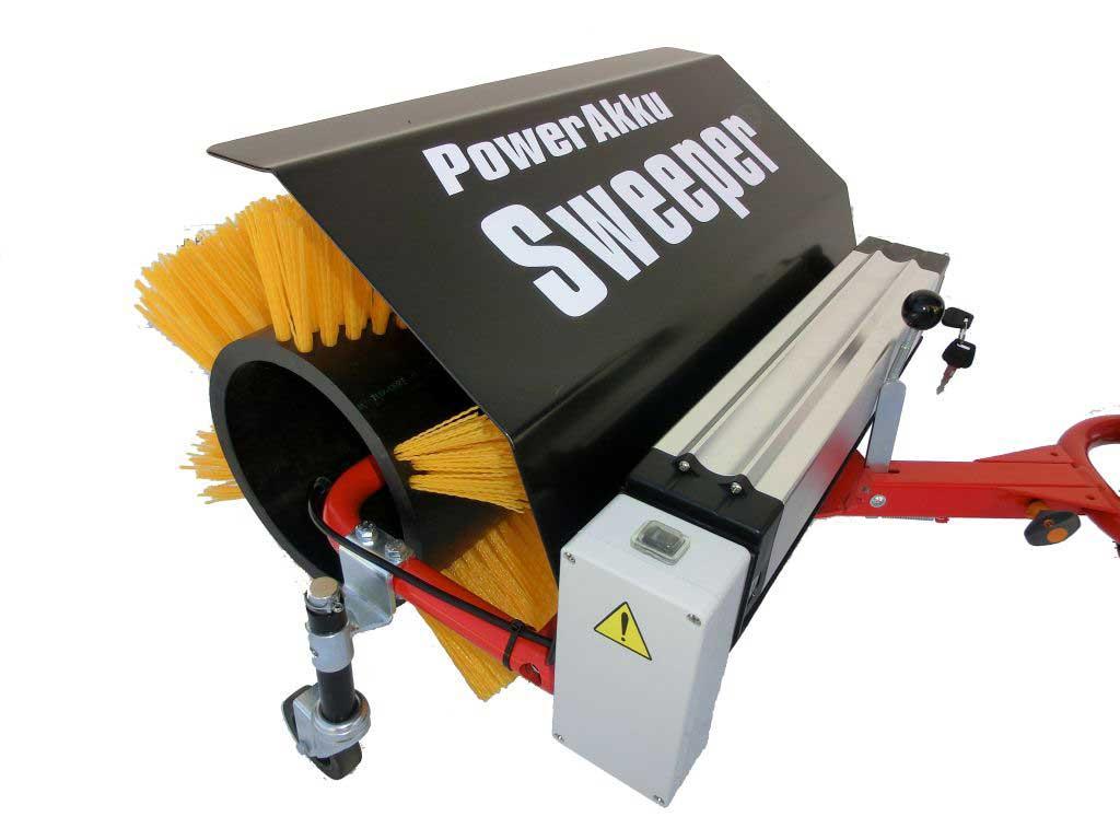 Powerpac Kehrbesen 50cm für Elekto-Schneeräumer ES230 Bild 1