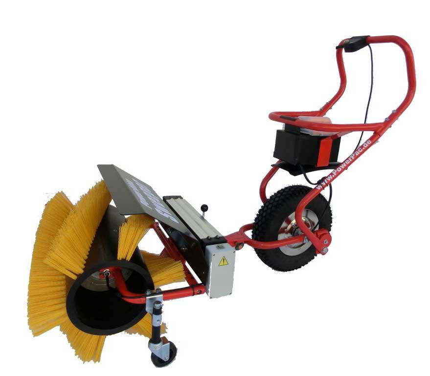Powerpac Kehrbesen 50cm für Elekto-Schneeräumer ES230 Bild 3