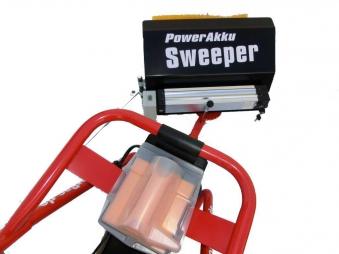 Powerpac Kehrbesen 50cm für Elekto-Schneeräumer ES230 Bild 2