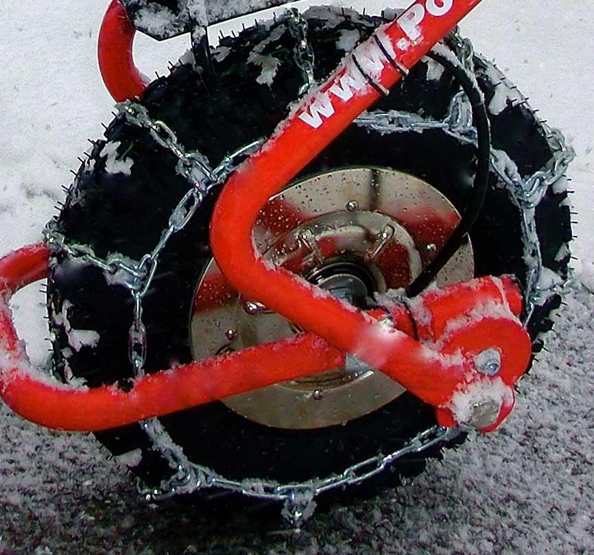 Powerpac Schneekette für Elektro-Schneeräumer ES230 Bild 1