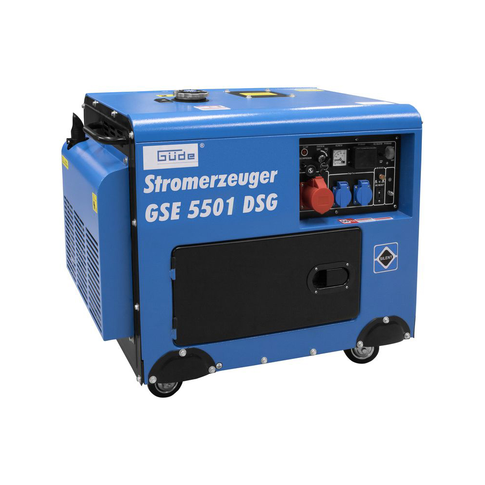 Güde Stromerzeuger GSE 5501 DSG Bild 1