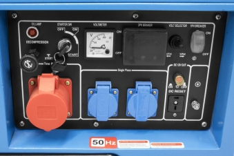 Güde Stromerzeuger GSE 5501 DSG Bild 3