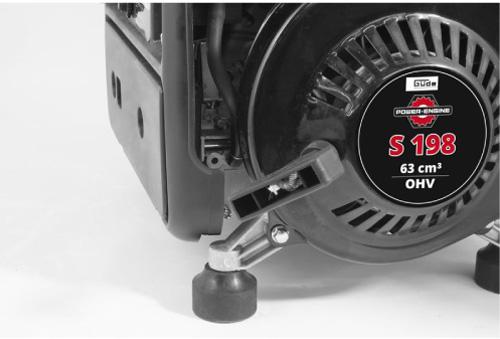 Güde Stromerzeuger GSE 951 Bild 2