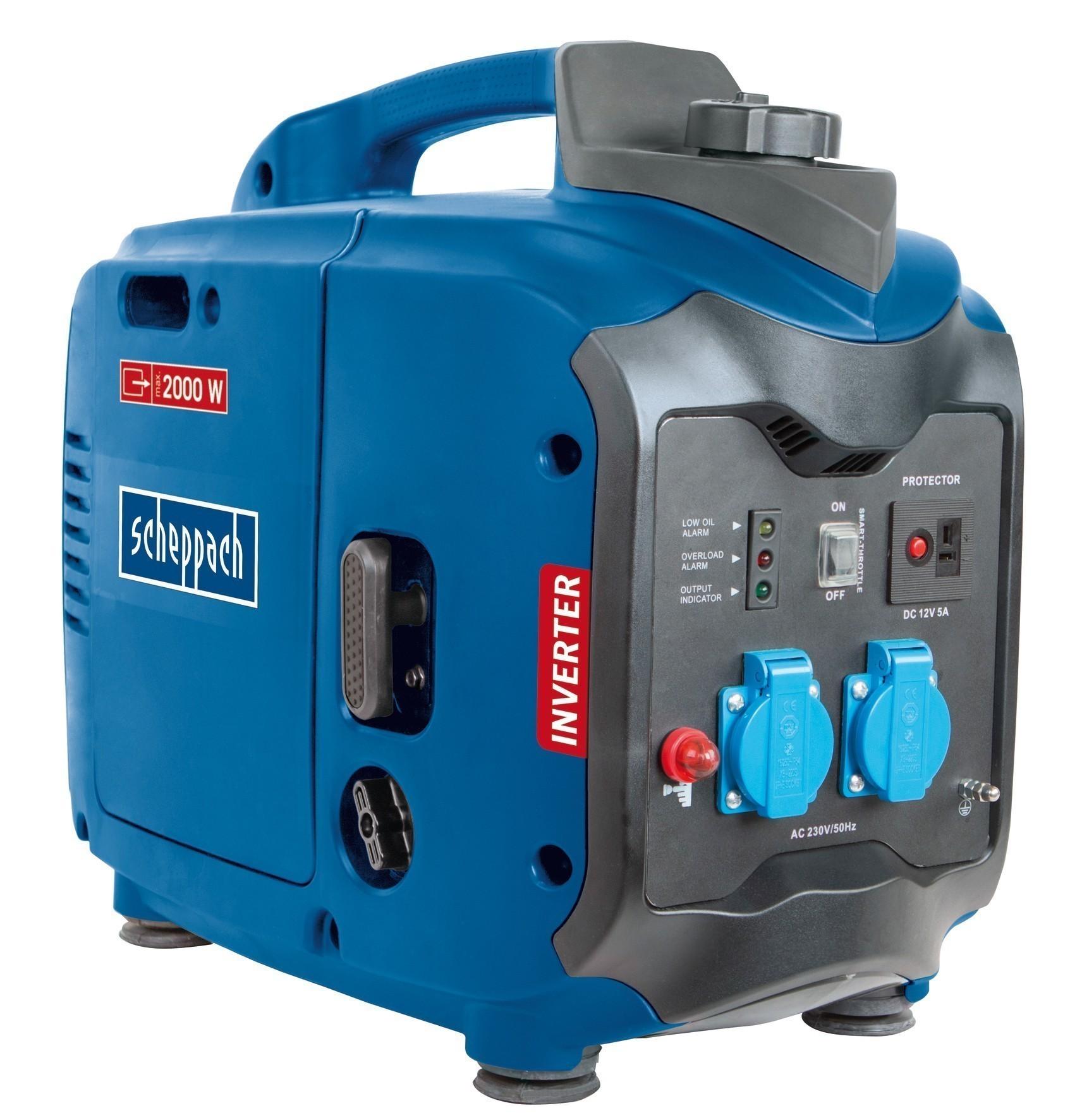 Scheppach Inverter Stromerzeuger SG2000 2000W 2,86PS Bild 1