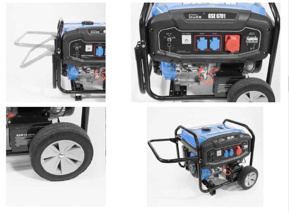 Stromerzeuger GSE 6701 RS Güde Bild 2
