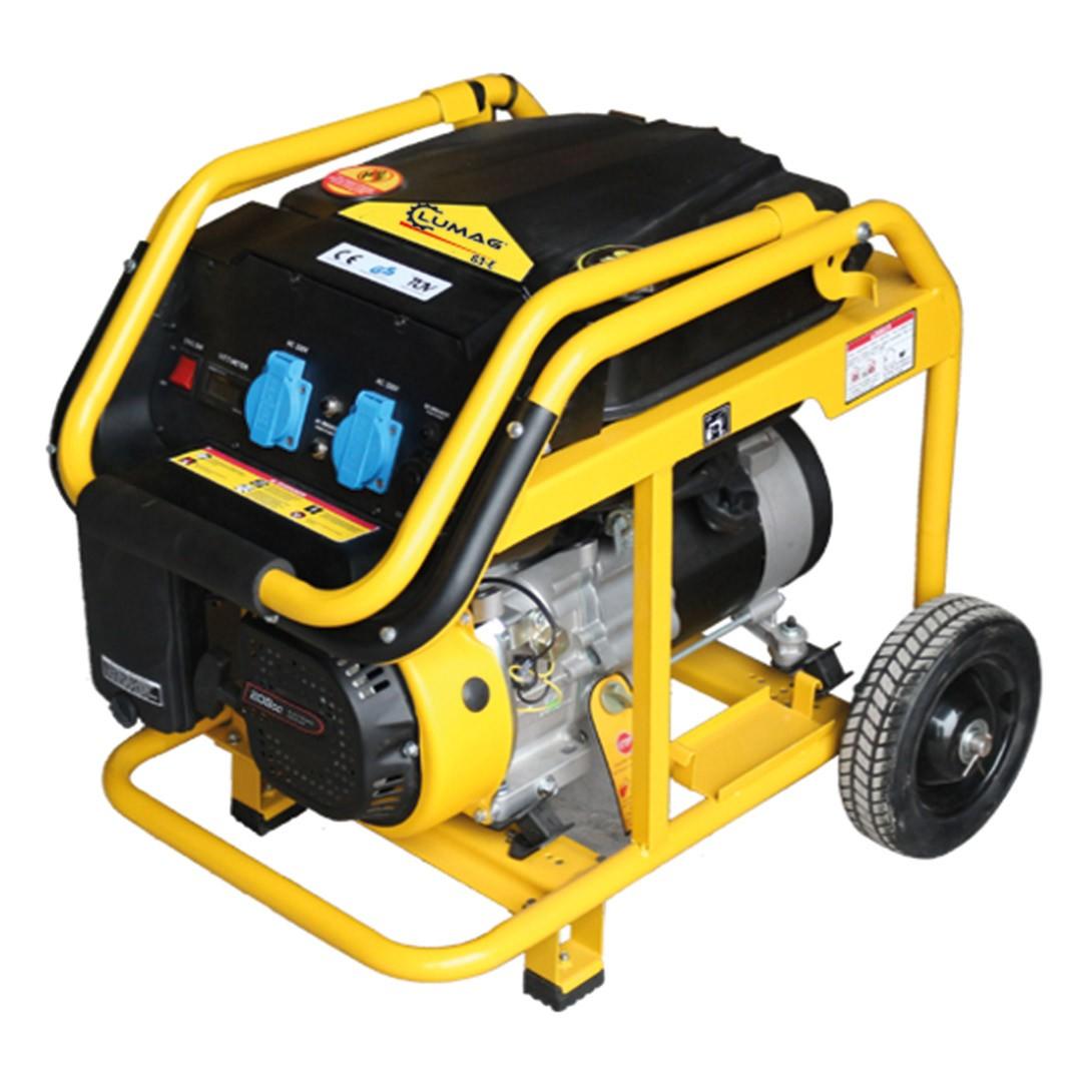 stromgenerator / stromerzeuger lumag g3-e benzin 230v 3kw - bei