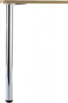 Tischbeinset D60 710-740 chrom gl. FORMAT Bild 1