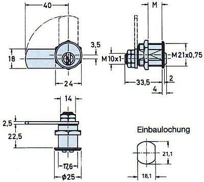 Zyl.-Hebelschl.Nr.2931 vern. MS M21 (1) Bild 3