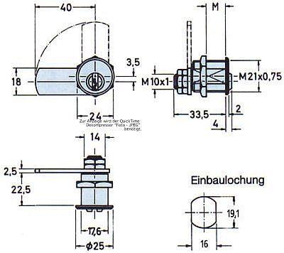 Zyl.-Hebelschl.Nr.2987 vern. MS M19 (2) Bild 2