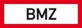 Brandsch-Schild Fol nachlBMZ 297x105mm Bild 1