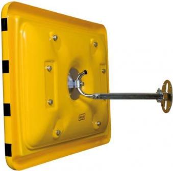 Industriespiegel gelb/schwarz 60x90 cm STRECKE Bild 4